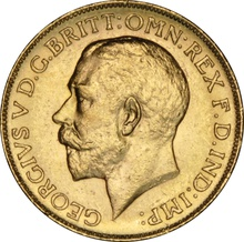 1918 Gold Sovereign - King George V - Canada