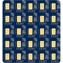 PAMP 25g Multigram Gold Bar (Minted)