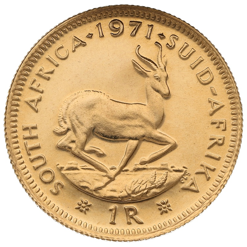 1971 1R 1 Rand coin South Africa