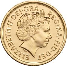 2004 Gold Sovereign - Elizabeth II Fourth Head