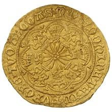 1467-8 Edward IV Gold Half-Ryal mm Crown