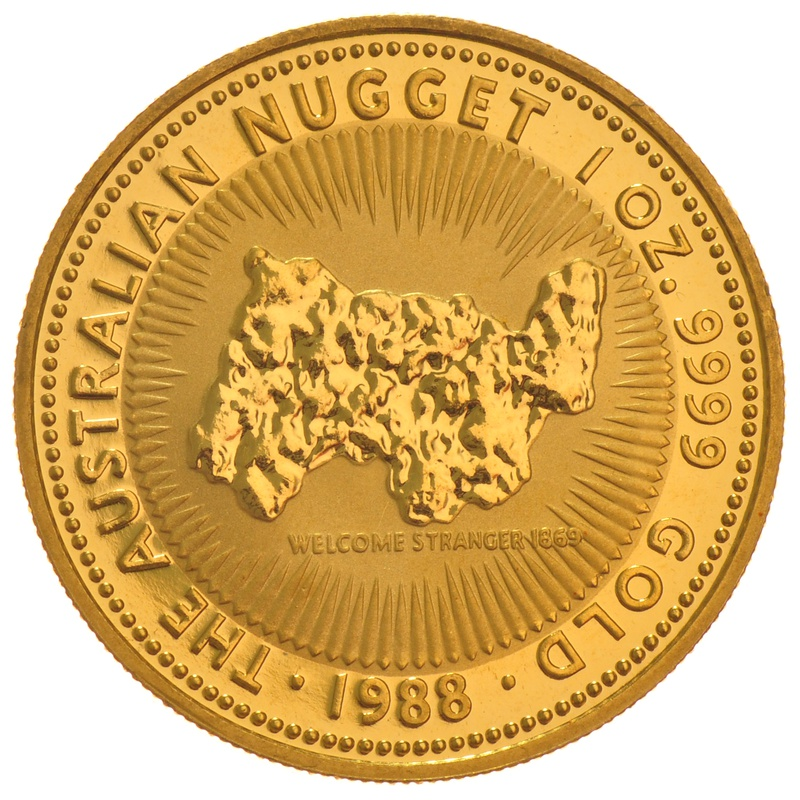 1oz Gold Australian Nugget Best Value