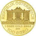 2011 1oz Austrian Gold Philharmonic Coin