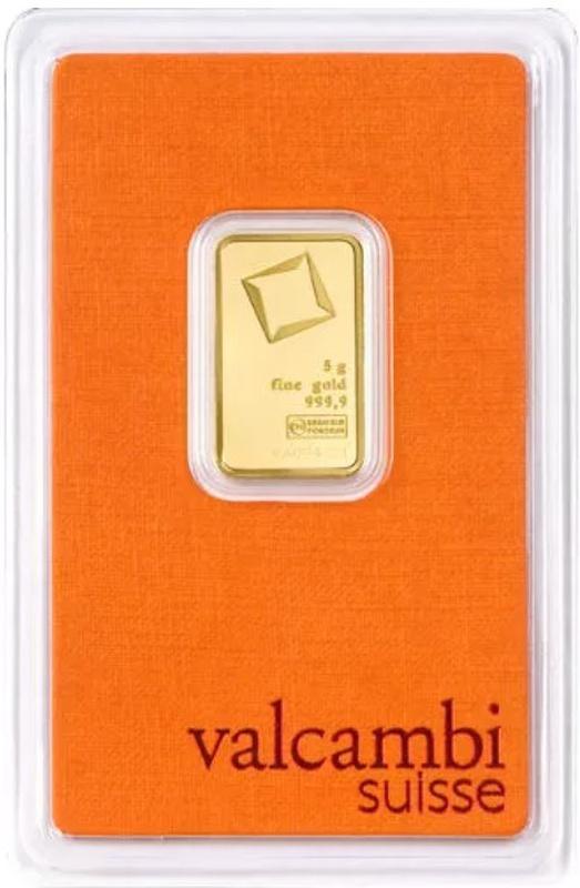 Valcambi 5 Gram Gold Bar