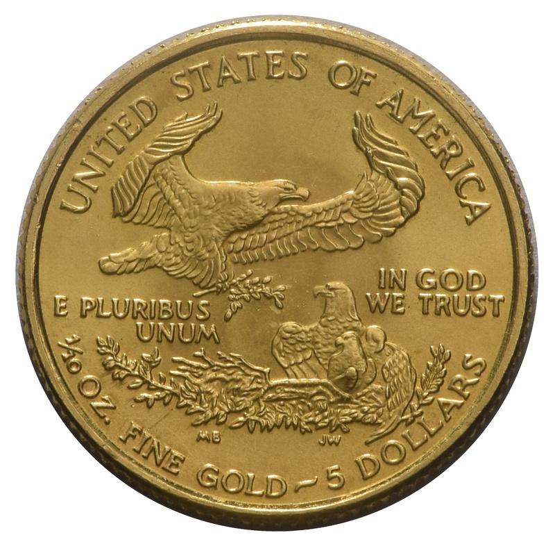 2016 Tenth Ounce Eagle Gold Coin