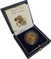 Gold Proof 1985 Half Sovereign Boxed