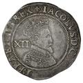 1604-5 James I Silver Shilling - mm Lis