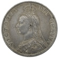 1888 Queen Victoria Silver Milled Florin