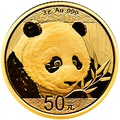 2018 3g Gold Chinese Panda Coin