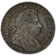 1723 George I Silver Shilling SCC - Very Fine