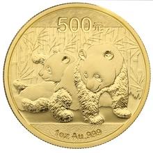 2010 1oz Gold Chinese Panda Coin