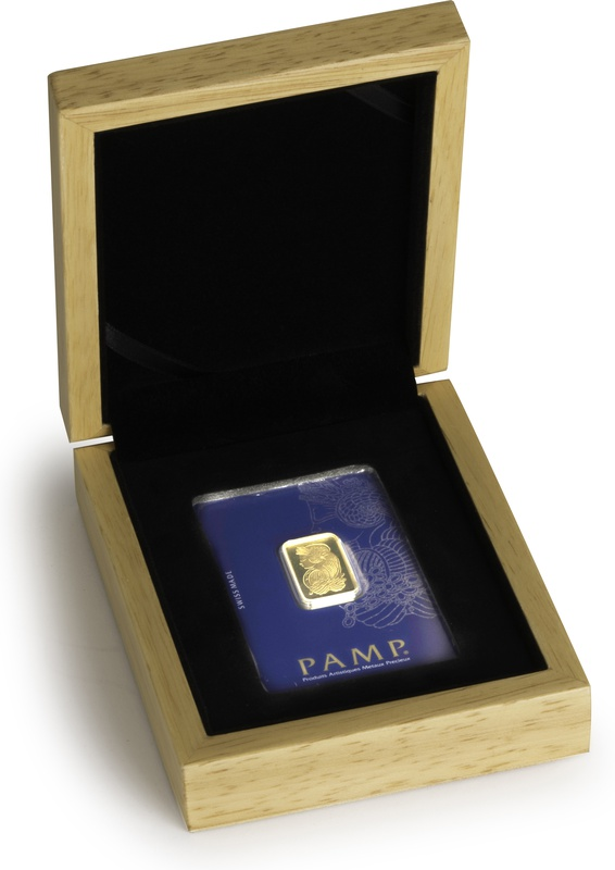 PAMP 10 Gram Gold Bar Gift Boxed