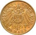 20 Mark German - Hamburg 1875 - 1913