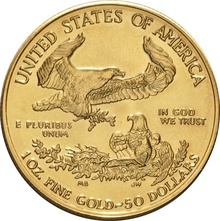 1998 1oz American Eagle Gold Coin