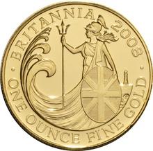 2008 Gold Britannia One Ounce Coin