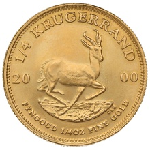 2000 Quarter Ounce Gold Krugerrand