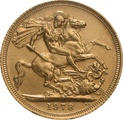 1978 Gold Sovereign - Elizabeth II Decimal Portrait