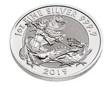 2019 Valiant One Ounce Silver Coin