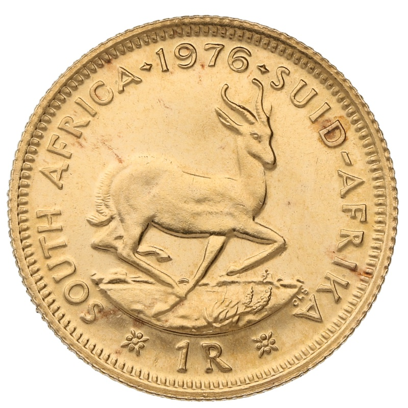 1976 1R 1 Rand coin South Africa