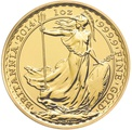 2014 Gold Britannia One Ounce Coin