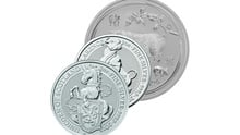 Grade B - 2oz Silver Coins Best Value
