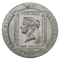 Isle of Man Proof Gold Penny Black 1/25th Crown