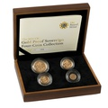 2011 Gold Proof Sovereign Four Coin Set (smaller) Boxed