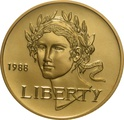 1988 Olympic Games - American Gold Commemorative $5