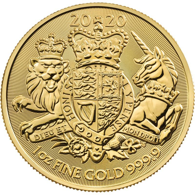 2020 Royal Arms 1oz Gold Coin