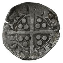 1307-1327 Edward II Silver Penny. Durham. Bishop Kellawe. Class 11b