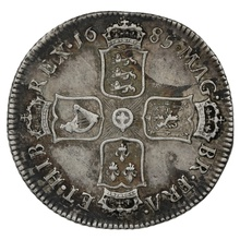 1685 James II Silver Shilling