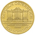 1998 Tenth Ounce Gold Austrian Philharmonic