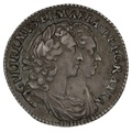 1693 William & Mary Silver Sixpence