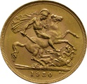1930 Gold Sovereign - King George V - SA PCGS MS64 UNC