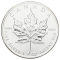 1988 1oz Canadian Maple Silver Coin