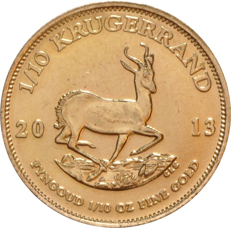 2013 Tenth Ounce Krugerrand