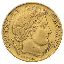 10 French Francs - Ceres
