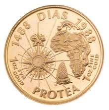 1988 Protea One Ounce gold Coin