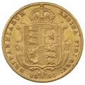 1892 Half Sovereign Victoria Jubilee Head Shield Back - London