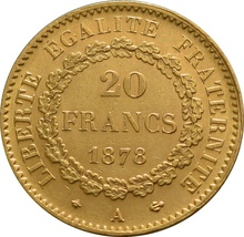 20 French Francs - Guardian Angel