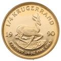 1990 Proof Quarter Ounce Gold Krugerrand