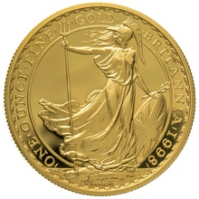 1998 One Ounce Proof Britannia Gold Coin