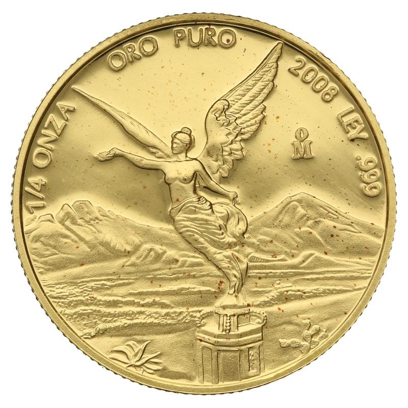Quarter Ounce Libertad Gold Coin