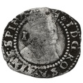 1603-4 James I Hammered Silver Penny mm Thistle