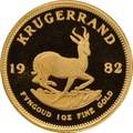 1982 1oz Gold Proof Krugerrand