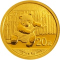2014 1/20 oz Gold Chinese Panda Coin