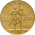 American Gold Commemorative $10 1984 L.A. Olympics
