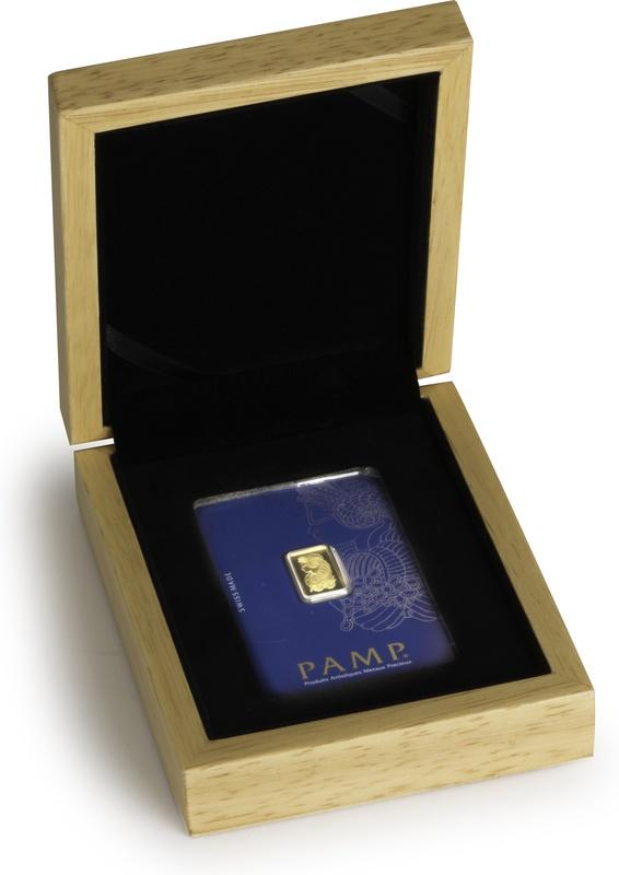 PAMP 2.5 Gram Gold Bar Gift Boxed