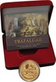 2005 - Gold Five Pound Proof Coin, Battle of Trafalgar Boxed