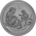 2016 1kg Kilo Australian Lunar Year of the Monkey Silver Coin